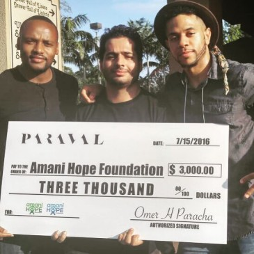 Change Makers: Paraval Co & Amani Hope Foundation